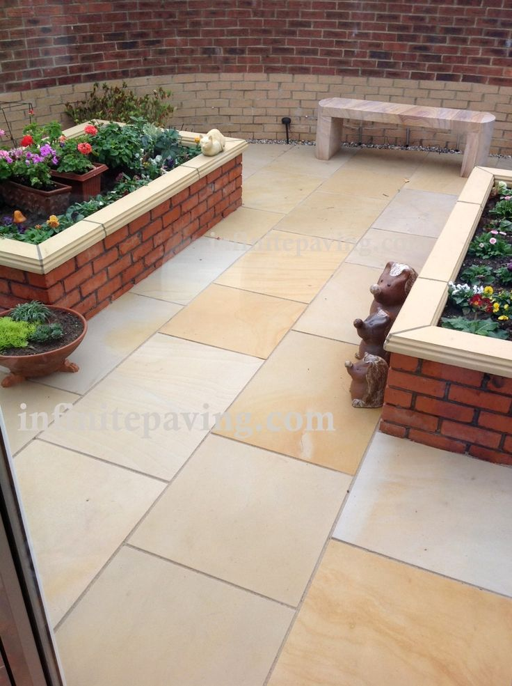 infinitepaving high quality natural stone paving indian sandstone indian limestone brazilian slate for garden patios and interior flooring - Brick Garden 2015