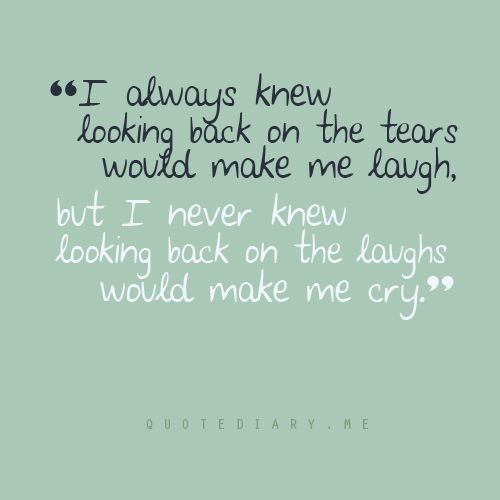 Tears-- very very true