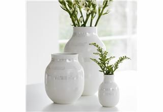 Omaggio vase H305mm perlemor - Lille Blå AS