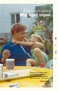 """Mig äger ingen är Åsa Linderborgs berättelse om uppväxten med sin ensamstående pappa,härdare vid Metallverken i Västerås. En berättelse om klasstillhörighet, manlighet och utanförskap. Om alkoholens makt och en dotters vånda. Drömmen om förändring står mot rädslan att sticka ut. Humorn blir en vardagsstrategi för en brokig arbetarsläkt under folkhemmets storhet och fall.""""Pappas plånbok är stor som en handflata, svart och lätt böjd efter ett liv i bakfickan"""".."""