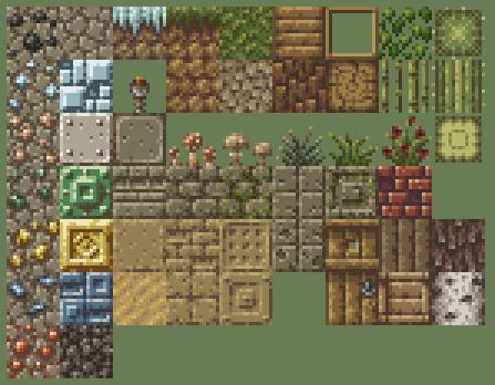ground tile pixel art - Google Search