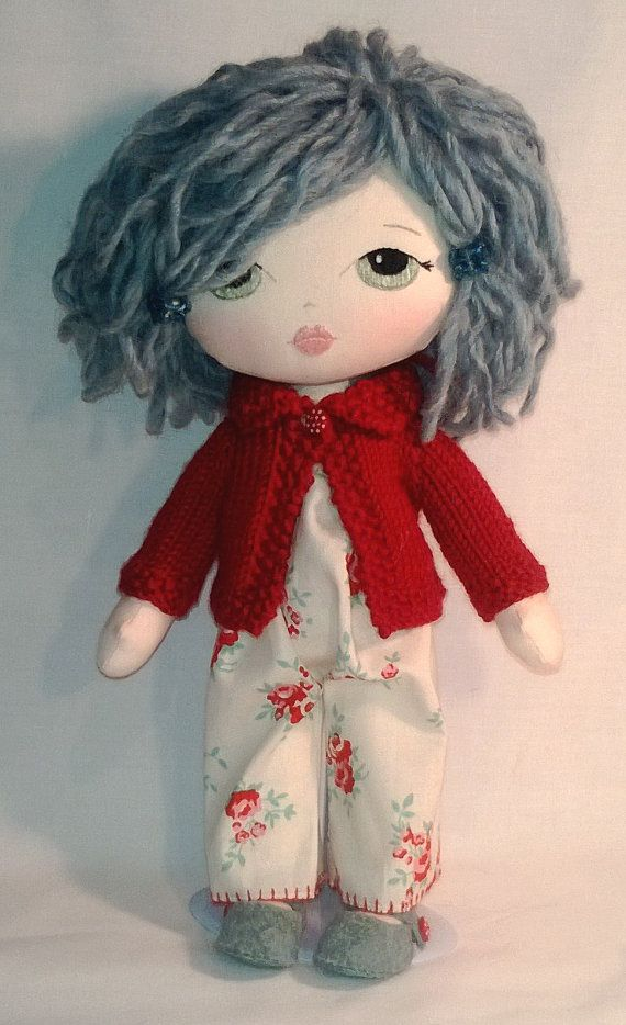 A Gingermelon little lady doll by Gwendollys on Etsy