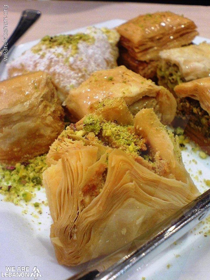 Would you like Baklava for dessert? عبالكن بقلاوة؟ #WeAreLebanon #Lebanese #Lebanon