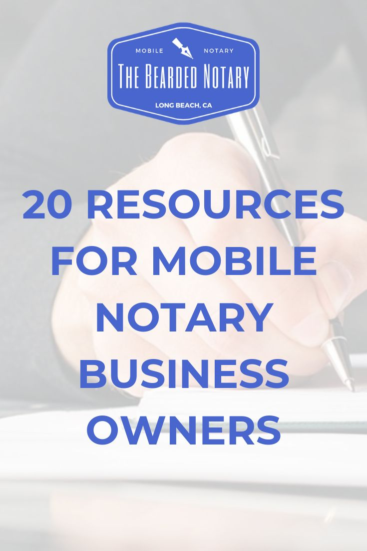 Notary business resources loan signing agent notary