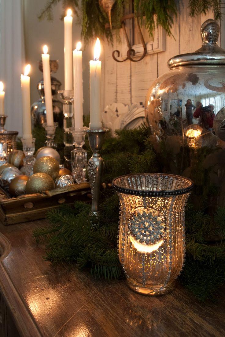 mercury glass christmas ornaments sale