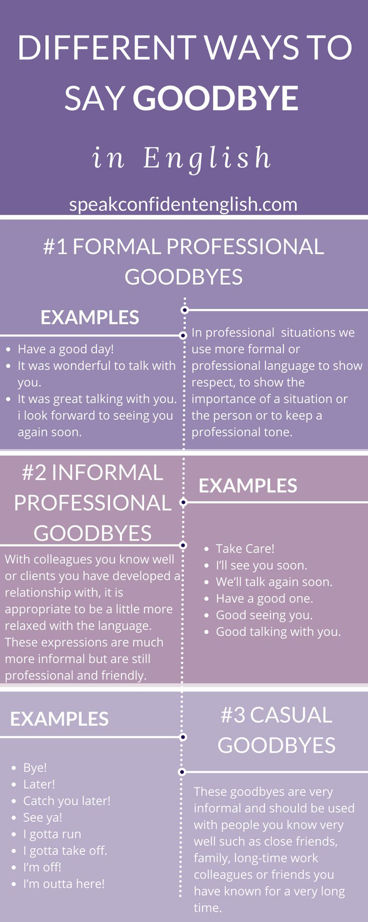 17 Ways To Say Goodbye In English & End Conversations Easily