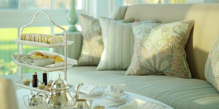 Yumm, afternoon tea at Coworth Park hotel :)
