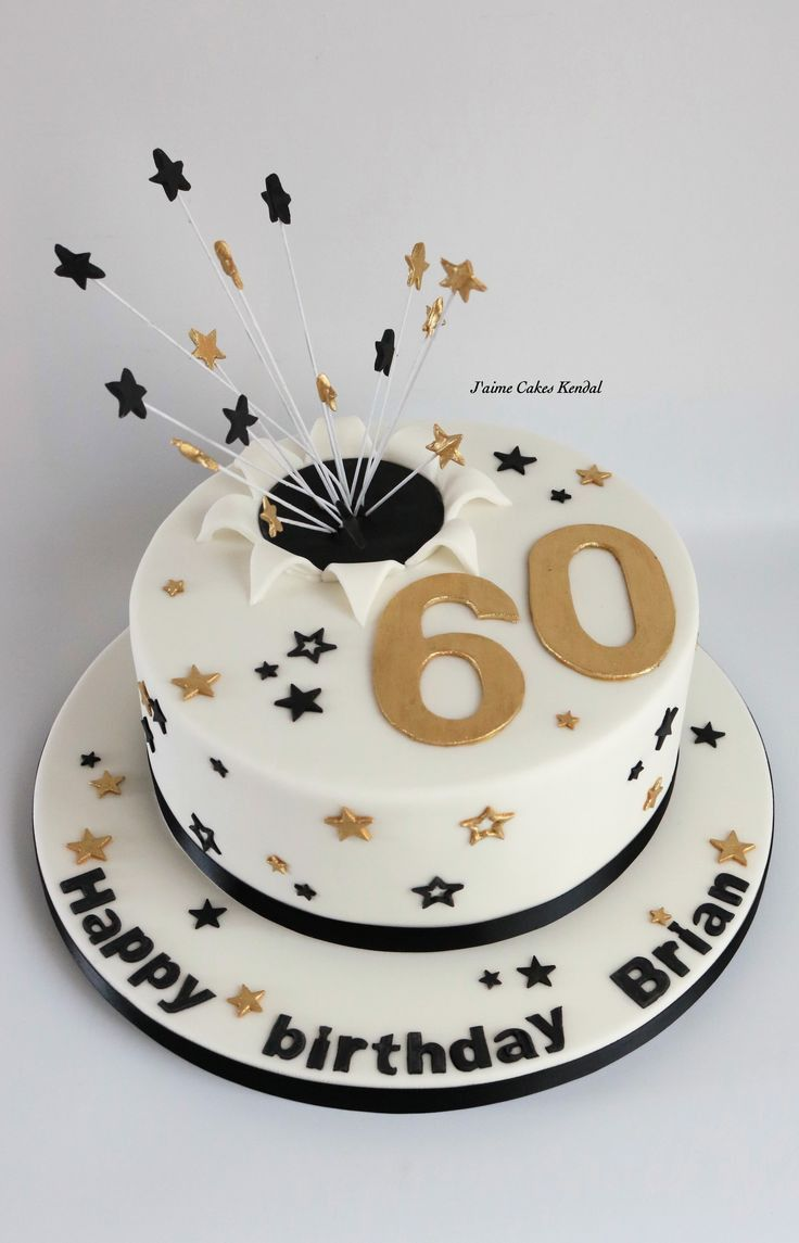 60th Birthday Cakes Top 20 60th Birthday Cake Ideas Dengan Gambar