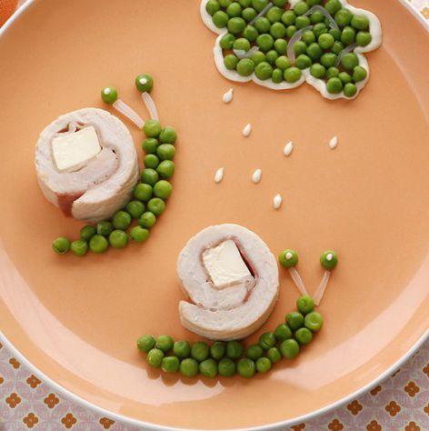 Une petite recette parfaite avec ce temps pluvieux : les escargots Kiri : roulés…