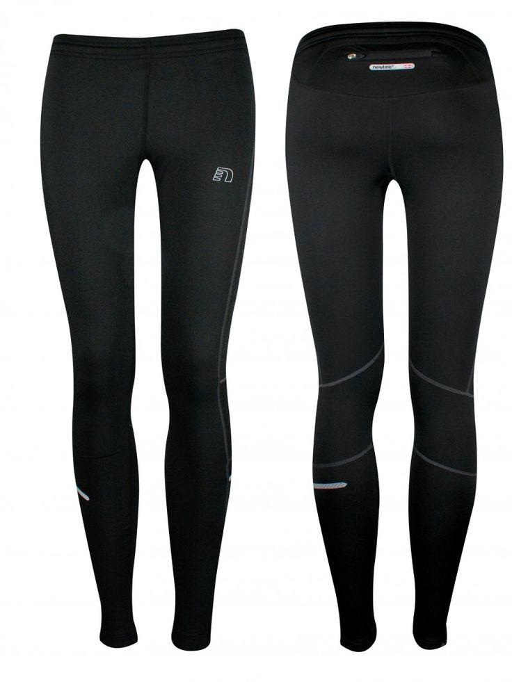 845.- BASE dámské  kompresní běžecké kalhoty NEWLINE dry n comfort tights 13444-060