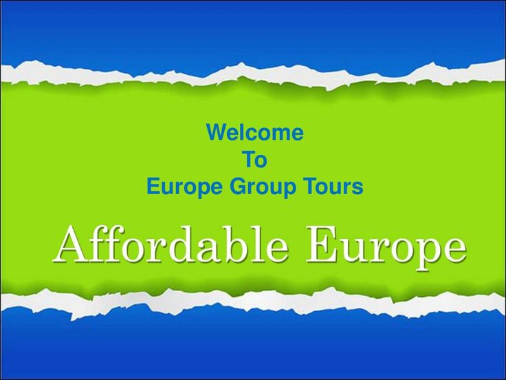 17 best images about europe group tour packages on for Best europe travel deals