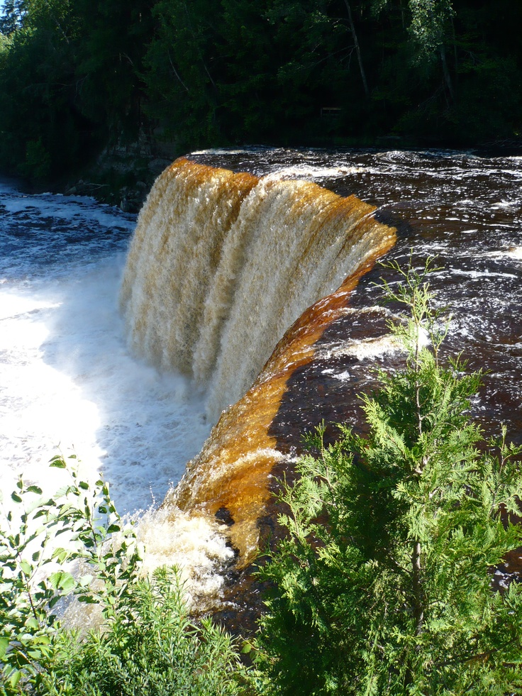 21 Best Images About Waterfalls Tahquamenon Falls On Pinterest Beautiful Copper And Places
