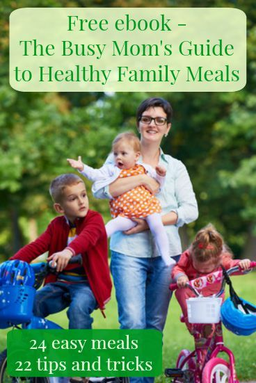Free, no obligation ebook - 24 easy and healthy family meals + 22 tips and tricks for easy food prep. Healthy living | Quick family meals | Healthy eating | Kitchen hacks
