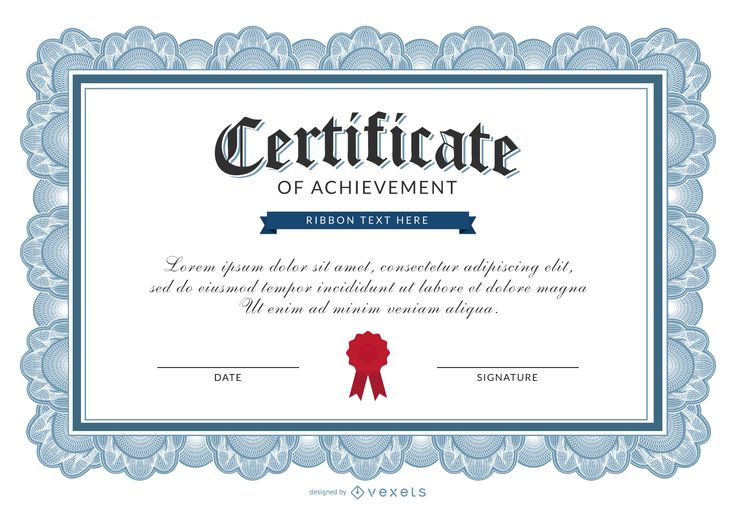32fc69d87b455a2908cf19be8d9c00ab-certificate-of-achievement-template.jpg (1600×1100)