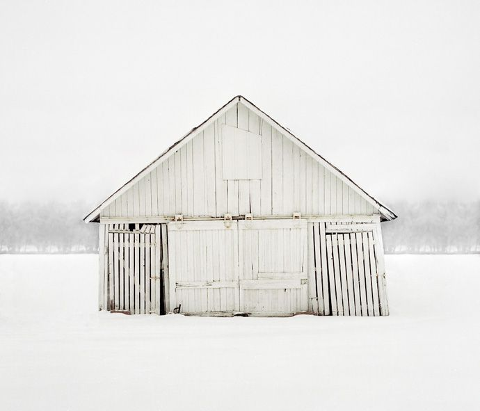 white. snow. house. #winter