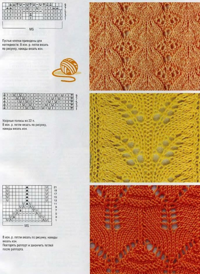 Pretty Lacy Patterns {charted}
