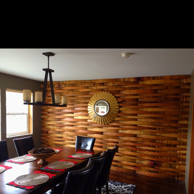 Cool wall treatment for the home pinterest - Cool wall treatments ...