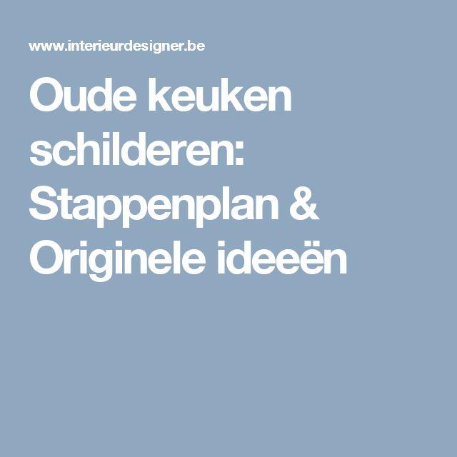 Oude keuken schilderen: Stappenplan & Originele ideeën