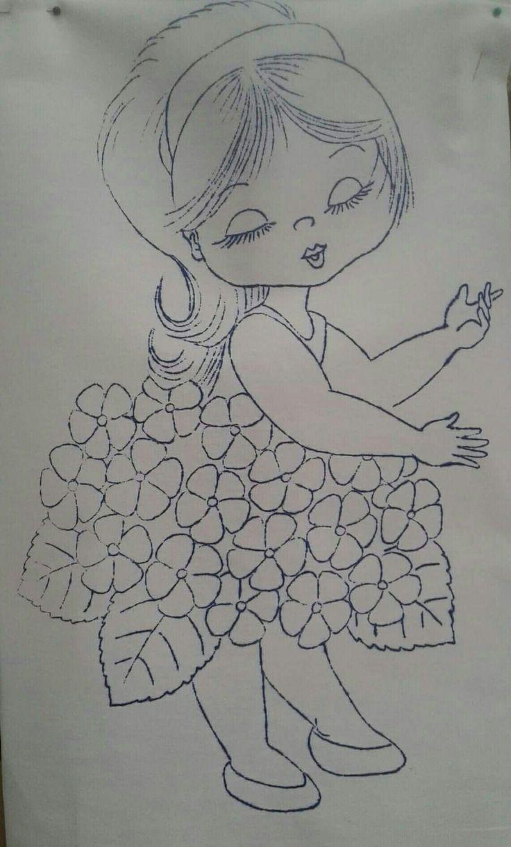 Niña hortencia