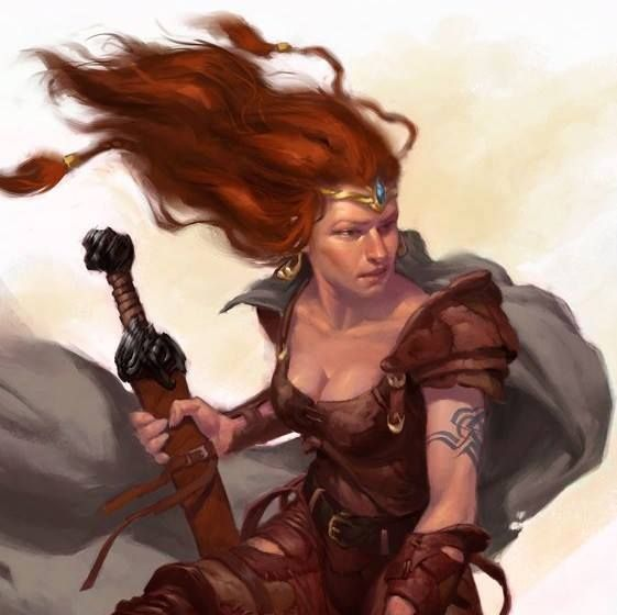 Boudicca (would love to now what she really looked like!)