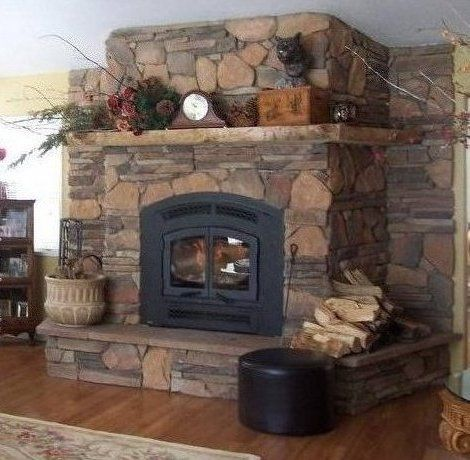 134 best images about indoor fireplace ideas on pinterest Fireplace setting ideas