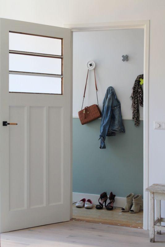 10 beste idee n over binnendeuren schilderen op pinterest binnenschilderwerk schilderen - Kleur schilderij gang ...