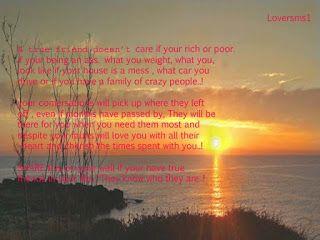 Loversms1: Emotional Friendship message in english