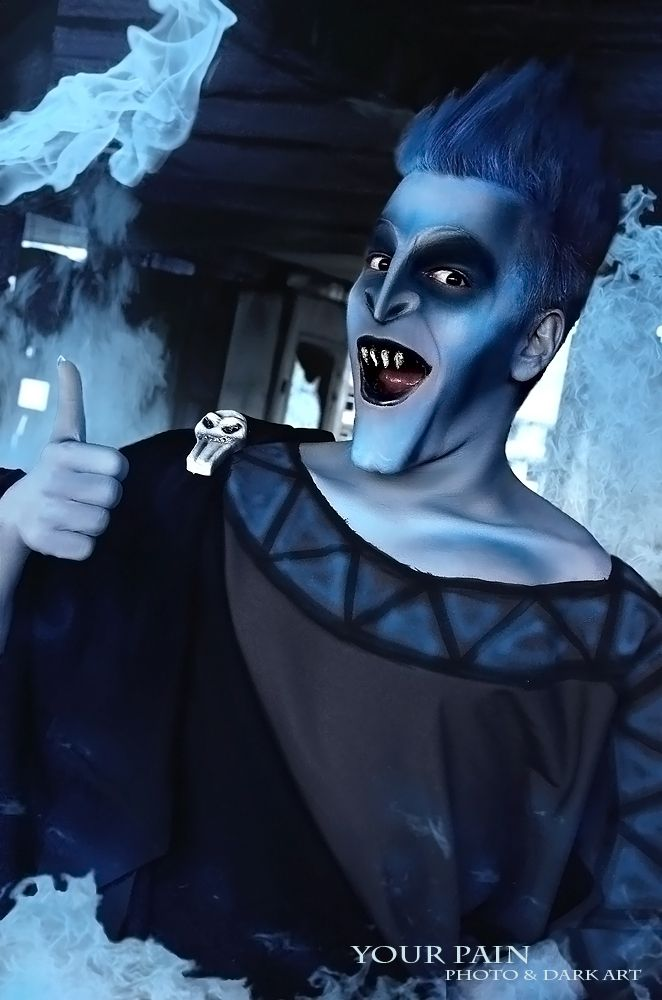 This guy has some amazing Disney Cosplay photos. Hercules- Hades by ~Your-Pain on deviantART