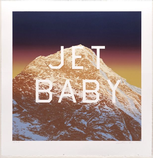 Ed Ruscha | Jet Baby (2011) | Available for Sale | Artsy