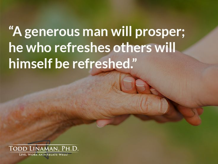 Are you a generous giver?