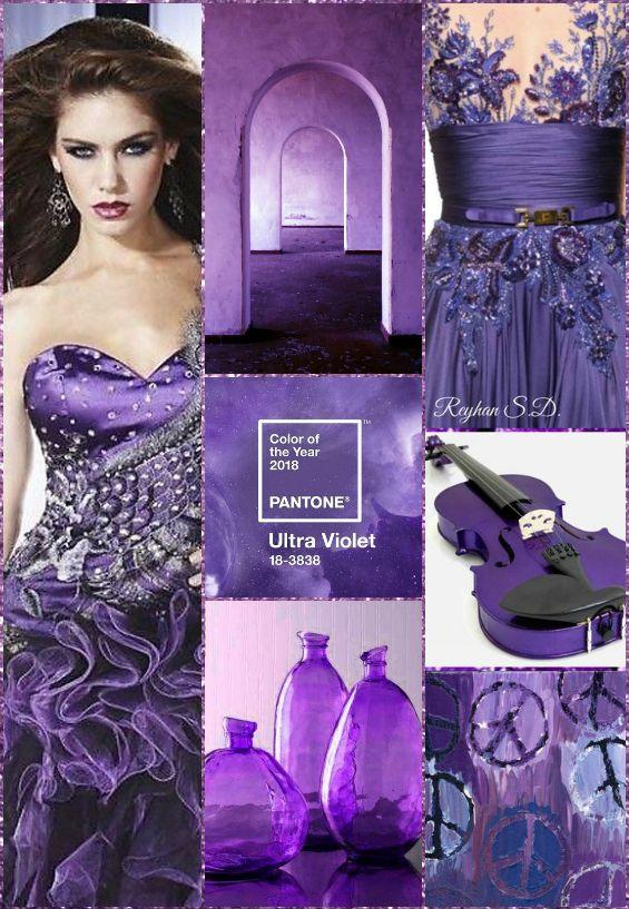 2d24d0bdd7d Ultra Violet- 2018 Pantone Color '' by Reyhan S.D   Ultra Violet ...
