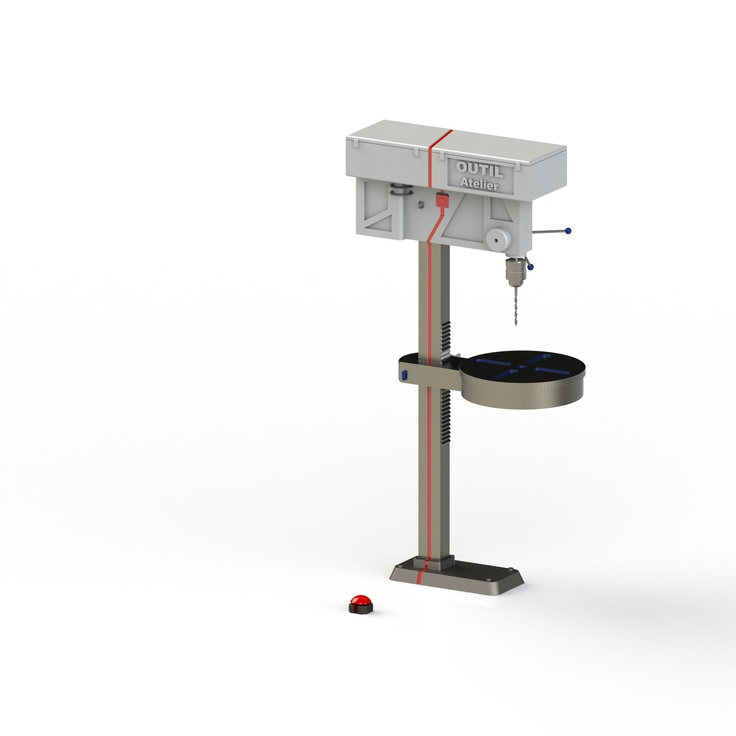 Drill Press Concept - Tool Time Project (2012)