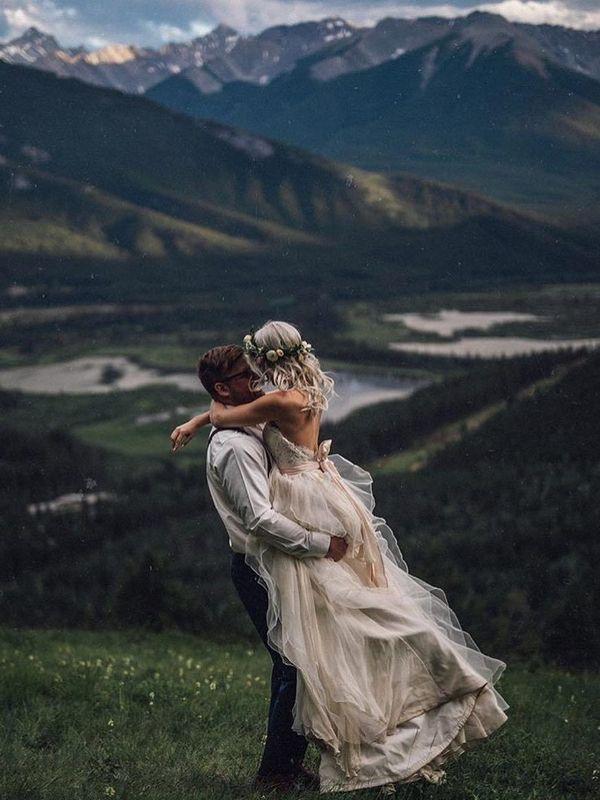 20 dreamy wedding photos from mountain weddings