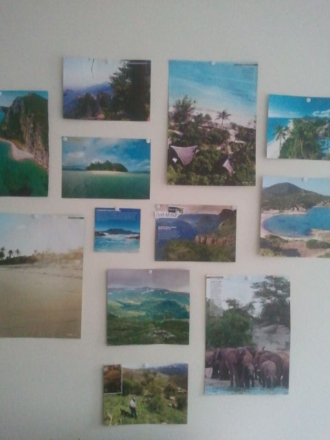 Wishes: to either go once or go back to these places in paradise....this is my mood-board!