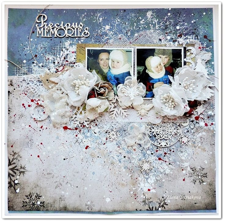winter+shabby+lo+for+Scrapki-Wyzwaniowo+created+by+Elena+Tretiakova - Scrapbook.com