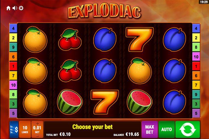 Eins von #Top Spielautomaten von #BallyWulff - Explodiac Spielautomat. Den kannst man auch kostenlos testen ohne Einzahlungen oder Anmeldung!