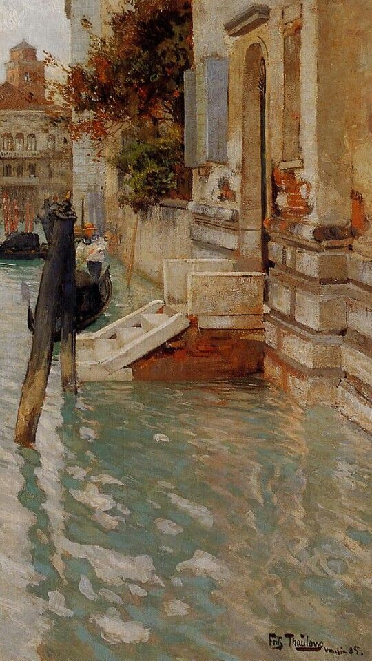 On the grand canal. Venice