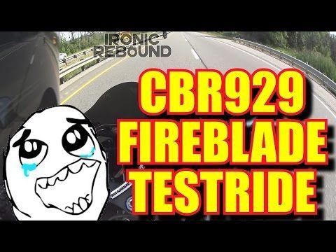 Honda CBR 929 FireBlade Ride and Review