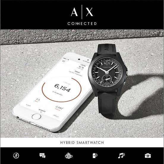 Bei Armani Exchange trifft elegantes italienisches Design auf moderne Smartwatch-Funktionen. Nach dem koppeln der Uhr mit Deinem Smartphone informiert sie Dich über eingehende Nachrichten, dient zur Musik- oder zur Selfiesteuerung.  Hier geht es zur Armani Exchange Kollektion: https://www.uhrcenter.de/uhren/armani-exchange/ #Armaniexchange #Armani #Uhr #Smartwatch #Smart #uhrcenter #watch #Fashion #Style #Lifestyle #Musiksteuerung #Qualität #Design #Picoftheday #Photooftheday #Tipoftheday