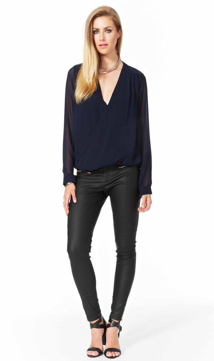 AlibiOnline - Chemistry Cross Over Blouse by COOPER ST, $119.95 (http://www.alibionline.com.au/chemistry-cross-over-blouse-by-cooper-st/)