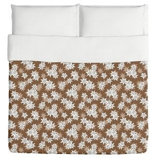 Shop for Edelweiss Brown Duvet Cover. Get free shipping at Overstock.com - Your Online Fashion Bedding Outlet Store! Get 5% in rewards with Club O! - 19340954