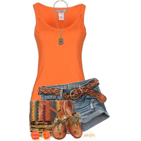 Short Shorts, created by jackie22 on Polyvore