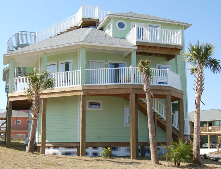 amazing try this kittery point green hc 119 super white port aransas texasbeach house planshouse - Texas Beach Homes Plans
