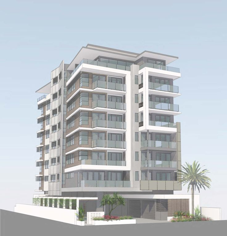 A modern coastal low-rise apartment located minutes from the beach.