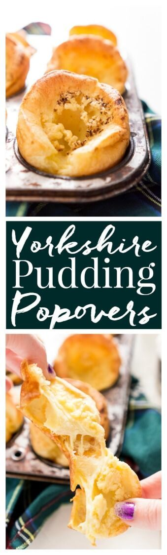 Easy Yorkshire Pudding Popovers are classic, 5-ingredient, English rolls that are delicious, quick and easy to make, and disappear fast!  via @sugarandsoulco