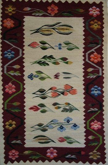Romanian traditional rug