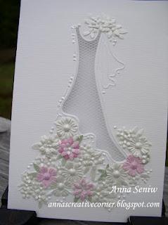 traumhafte Hochzeitskarte