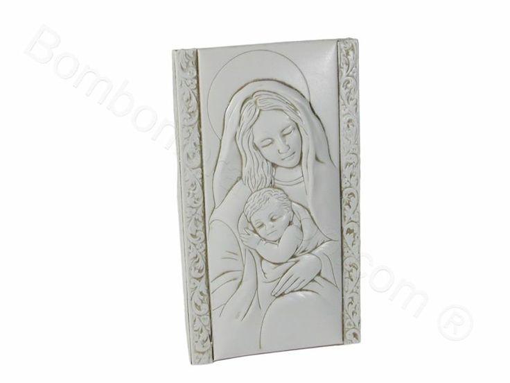 Maternità in bassorilievo con scatola di serie per il fai da te