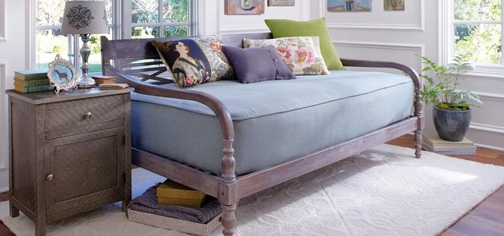 I own this...it's really lovely...the mattress that comes with it is horrible, though, fyi. LABEL: Cost Plus World Market - Victorian Isles Collection >> #WorldMarket