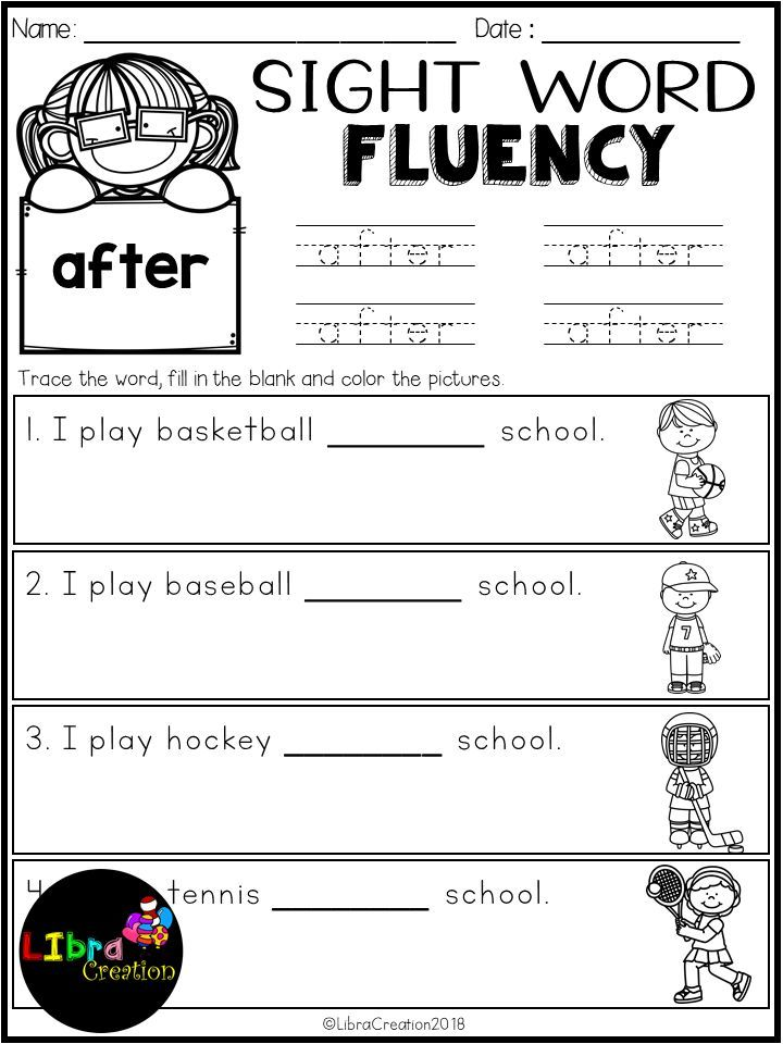 This Product Includes 41 Pages Of Sight Word Fluency In This Pr Sight Words Kindergarten Dolch Sight Words Kindergarten Kindergarten Worksheets Sight Words Dolch sight words kindergarten worksheets